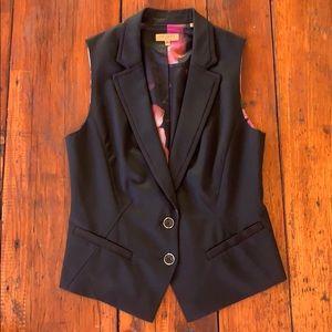 Floral colorful pattern Ted Baker Vest size 3